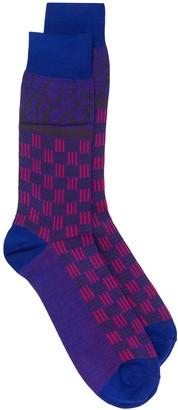 Etro Geometric Jacquard Socks