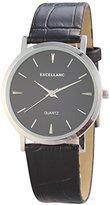 Excellanc Men's Quartz Watch 295021000169 with Leather Strap