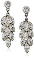 Ben-Amun Jewelry Clear Drop Earrings