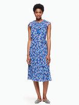 Kate Spade Tangier floral chiffon dress