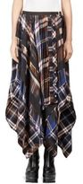 Sacai Flannel Plaid Skirt