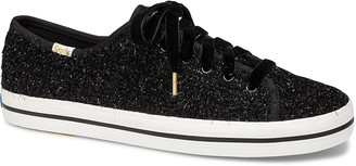 Kate Spade Keds x New York Women's Sneakers TINSEL Tinsel Black Kickstart Sneaker - Women