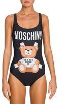 Moschino Bear Logo Bodysuit