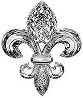 """Waterford Crystal 4"""" Fleur-de-Lis Paperweight"""