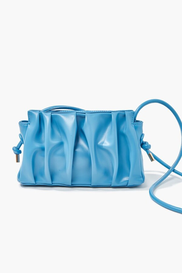 Thumbnail for your product : Forever 21 Pleated Crossbody Bag