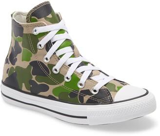 Converse Chuck Taylor(R) All Star(R) Camo High Top Sneaker