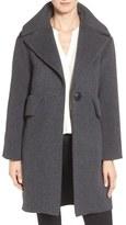 Derek Lam 10 Crosby Extreme Pocket Detail One Button Wool Blend Coat