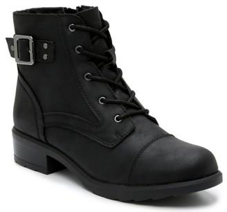 Madden-Girl Della Combat Boot