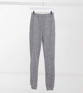 Asos Tall ASOS DESIGN Tall supersoft slim leg jogger in grey marl