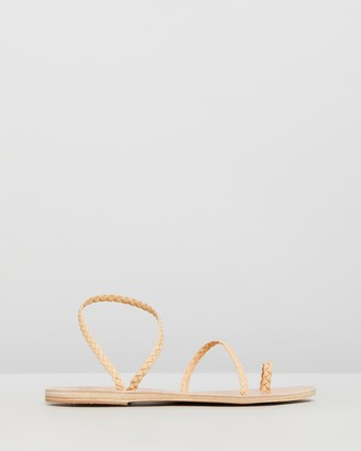 Ancient Greek Sandals Women's Neutrals Strappy sandals - Eleftheria - Size 37 at The Iconic