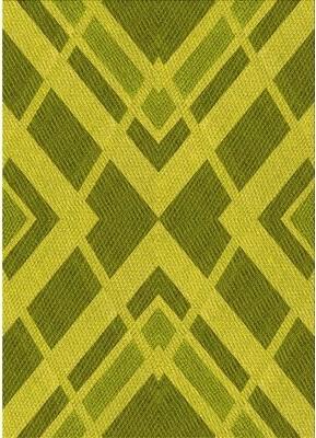 Hanson East Urban Home Geometric Wool Yellow Area Rug East Urban Home Rug Size: Rectangle 2' x 5'
