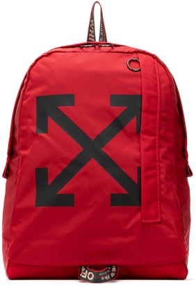 Off-White Arrow Logo Backpack