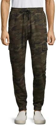 American Stitch Camo-Print Cargo Jogger Pants
