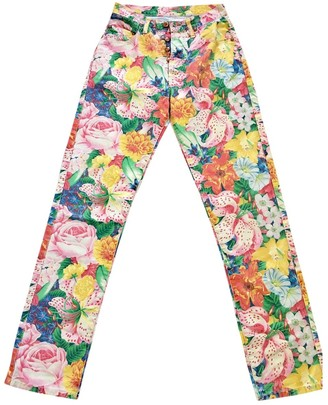 Kenzo Multicolour Cotton Jeans for Women