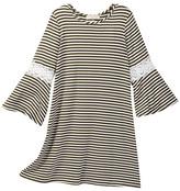 Soprano Bell Sleeve Crochet Dress (Big Girls)