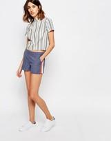 Vila Runner Stripe Relaxed Shorts