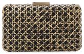 Kayu Small Woven Rattan Clutch