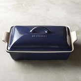 Le Creuset Heritage Stoneware Rectangular Covered Casserole, Midnight Blue