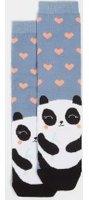 Dorothy Perkins Womens Panda Toe Ankle socks- Blue