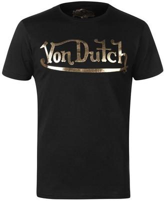 Von Dutch Logo T Shirt