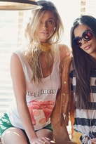 Wildfox Couture Happiness Is Roadtrip Tank in Clean White