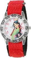 Disney Mulan Kids' W002981 Mulan Analog Display Analog Quartz Watch