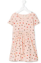 Nice Things polka dot dress - kids - Rayon/Viscose - 4 yrs