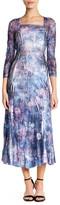 Komarov Floral Lace Midi Dress (Petite)