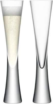 LSA International Moya Champagne Flutes Set of 2