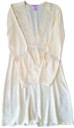 Non Signã© / Unsigned Yellow Cotton Dresses