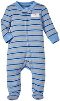 Carter's Footie (Baby) - Blue/Orange-Newborn