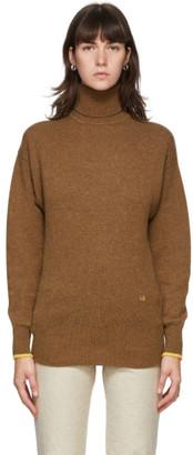 Victoria Beckham Brown Cashemere Sweater