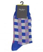 Oliver Sweeney Fenton Cobalt Socks