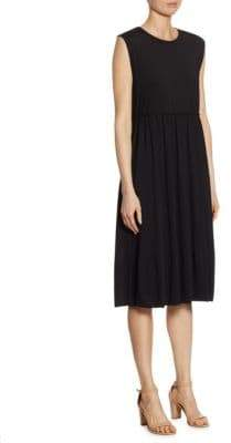 Jil Sander Gathered Jersey Dress