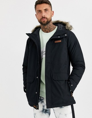 Columbia Marquam Peak parka jacket in black