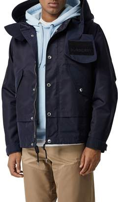 Burberry Hooded Techno Jacket
