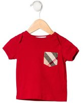 Burberry Girls' Exploded Check Short Sleeve Top