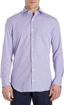 Barneys New York Alternating Stripe Shirt