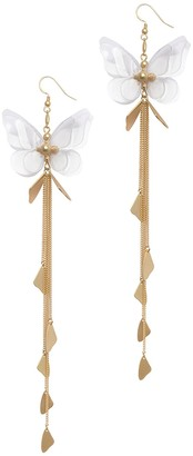 Zimmermann Butterfly Drop Earring