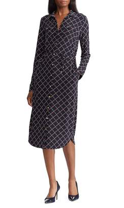 Lauren Ralph Lauren Straight-Fit Graphic Shirtdress