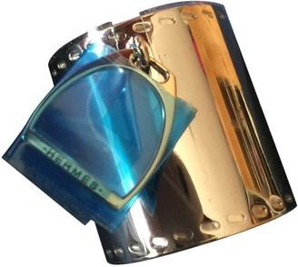 Hermes Anneau de Foulard Silver Glitter Scarves