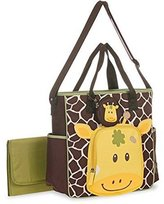 Baby Boom Giraffe Face Tote Diaper Bag by