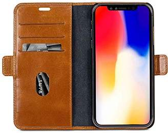 Dbramante1928 [ [Dbramante 1928] [Smart Leather Cover/Hand Made in Denmark] iPhone Xs Max