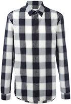 Maison Margiela checked long sleeve shirt - men - Cotton - 42