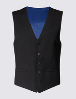 M&S Collection Charcoal Regular Fit Waistcoat