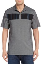 Travis Mathew Men's Babs Stripe Pique Polo