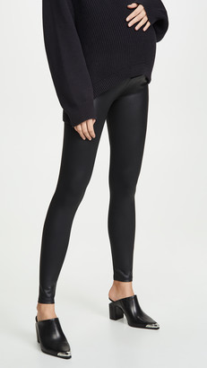 David Lerner Coated Maternity Leggings