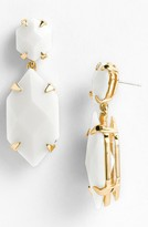 Vince Camuto 'Bright Gems' Faceted Resin Drop Earrings