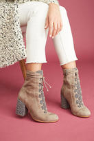 Anthropologie Silent D Worship Lace-Up Boots
