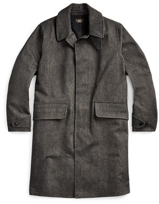 Ralph Lauren Herringbone-Print Raincoat